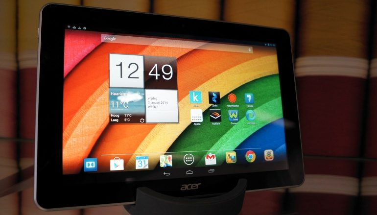 Acer-Iconia-A3-display
