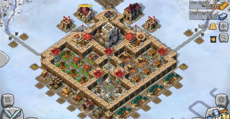 Age of Empires castle siege iPad app
