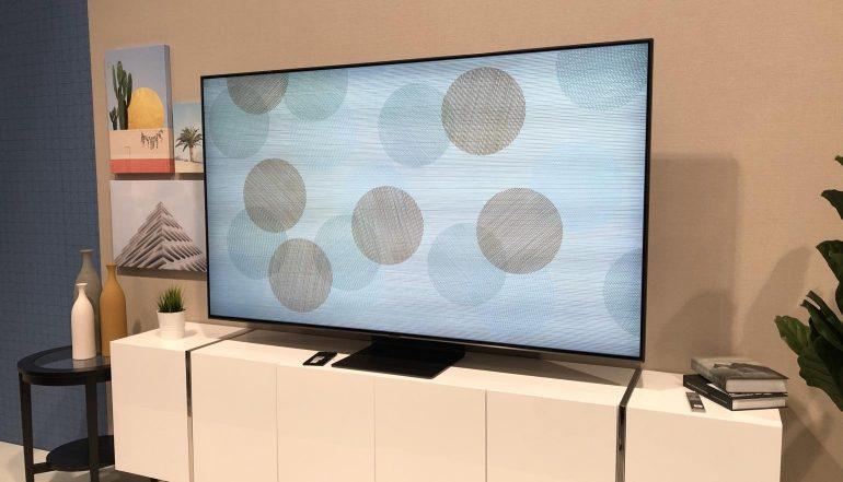 Tv Plasma Kast.Samsung Presenteert 2019 Qled En Lcd Led Tv Line Up Homecinema
