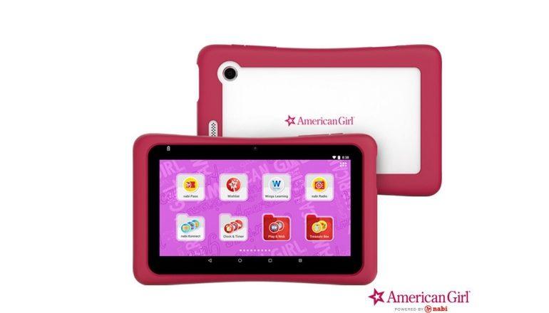 American Girl tablet