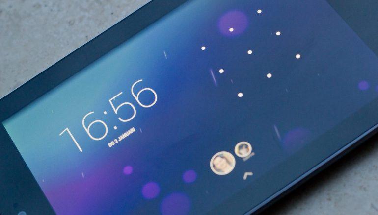 Android-tablet-patroon-inloggen-vergeten