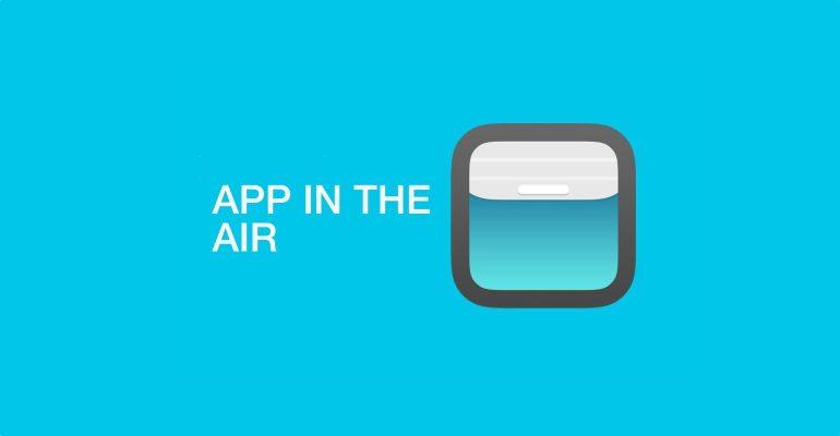 App in the air app