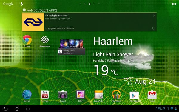 Asus Transformer 300 Android Jelly BeanVideo: Android 4.1 Jelly Bean op de ASUS Transformer Pad 300