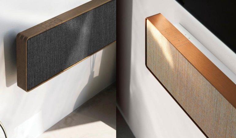 b o lanceert beosound stage soundbar met prijs van 1500. Black Bedroom Furniture Sets. Home Design Ideas