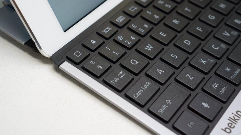 Belkin QODE Thin Type-review-toetsenbord