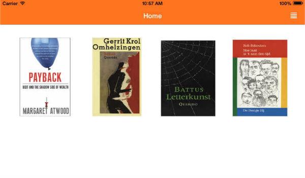 Bibliotheek iPad