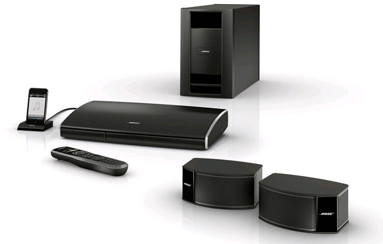 bose lifestyle 235 2 1 home cinema systeem homecinema. Black Bedroom Furniture Sets. Home Design Ideas
