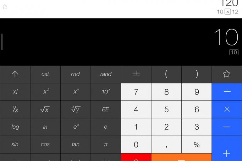 Calcbot iPad en iPhone update