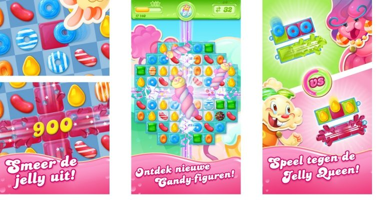 Candy Crush Saga Jelly Queen