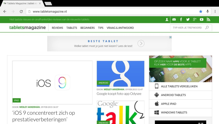 how to download chrome on android tablet
