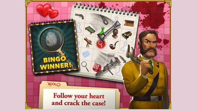 Cluedo Bingo Valentine