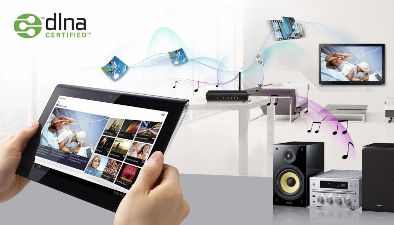 DLNA-tablet