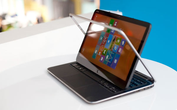 Dell XPS Duo 12Dell XPS 12 convertible Windows 8 tablet nu te koop voor 1.299 euro