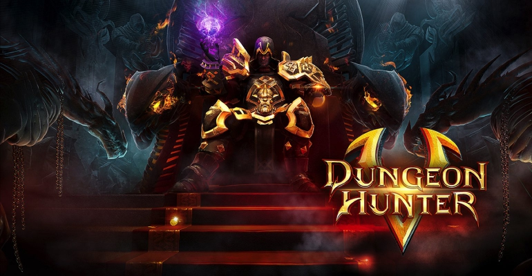 Dungeon Hunter iPad app