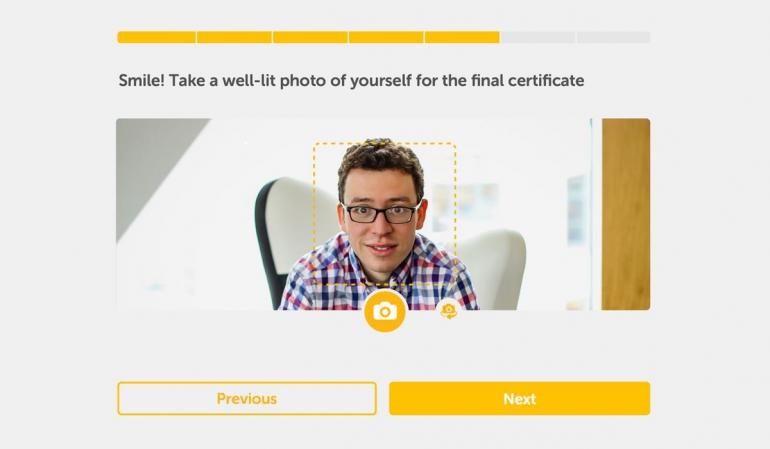 Duolingo test center app