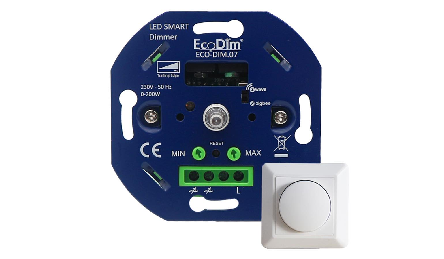Zigbee LED Dimmer Echo, Echo Dot Smart dimmer Phasenabschnitt Kompatibel mit  Alexa Ecodim /& Google Home 230V
