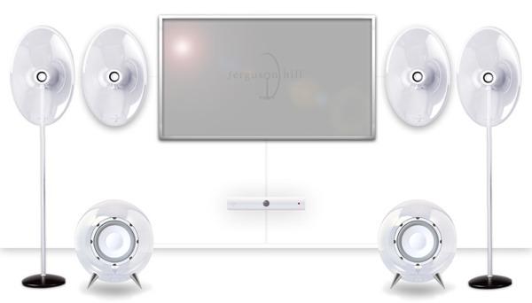 Ferguson Hill Clear Speaker System