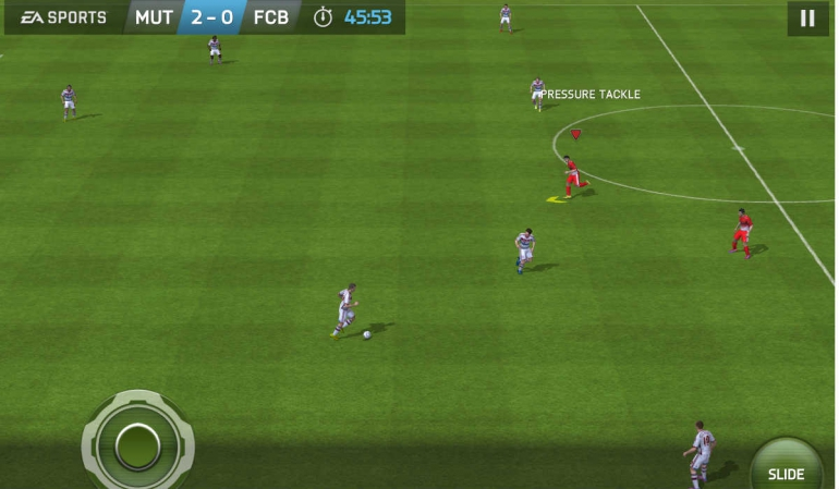Fifa 15 Ultimate Team in-game