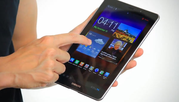Eerste review Samsung Galaxy Tab 7.7: Beste 7 inch Android tablet