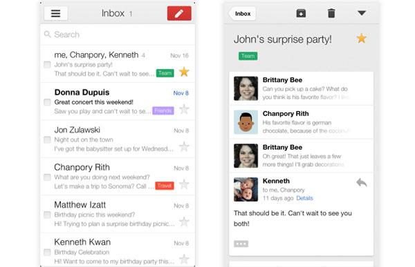 Update Gmail voor iPad maakt automatisch inloggen Google ...