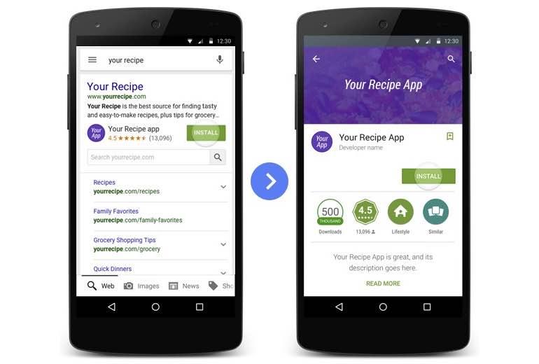 Google-zoeken-apps