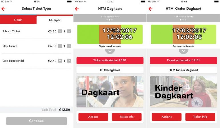 HTM Ticket App