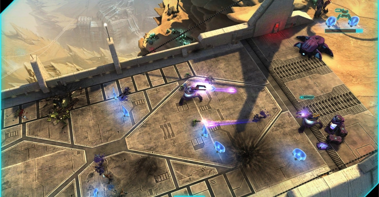 Halo Spartan Assault iPad app