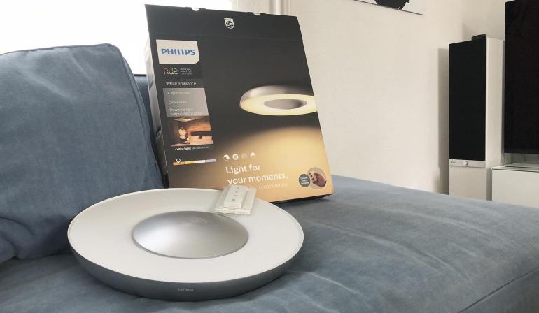 Philips Licht Hue : Review philips hue still plafondlamp met afstandsbediening