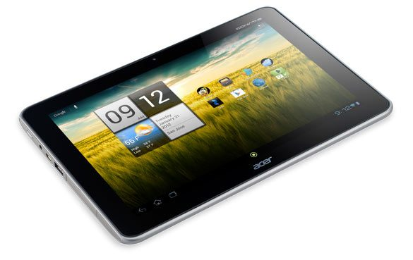 Iconia Tab A210Android Jelly Bean update schema Acer Iconia Tab A210, A510 en A700 bekend