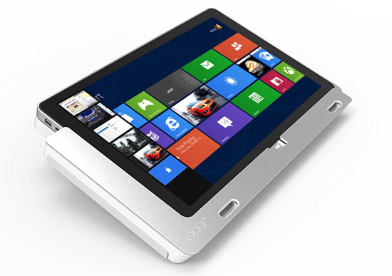 Iconia Tab W700 1Acer lanceert Iconia Tab W510 en W700 Windows 8 tablets