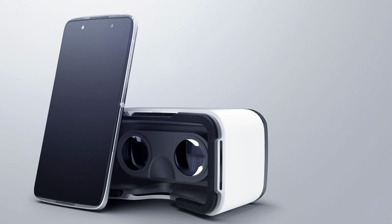 Idol 4S virtual reality vr bril box doos
