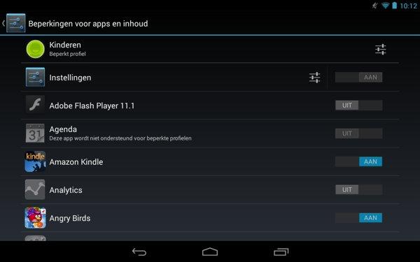 Instellingen-beperkt-profiel-Android