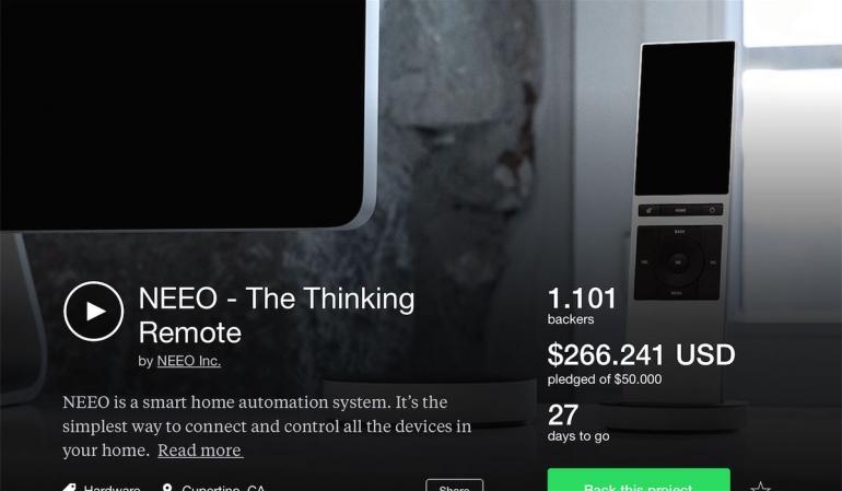 Kickstarter iPad app