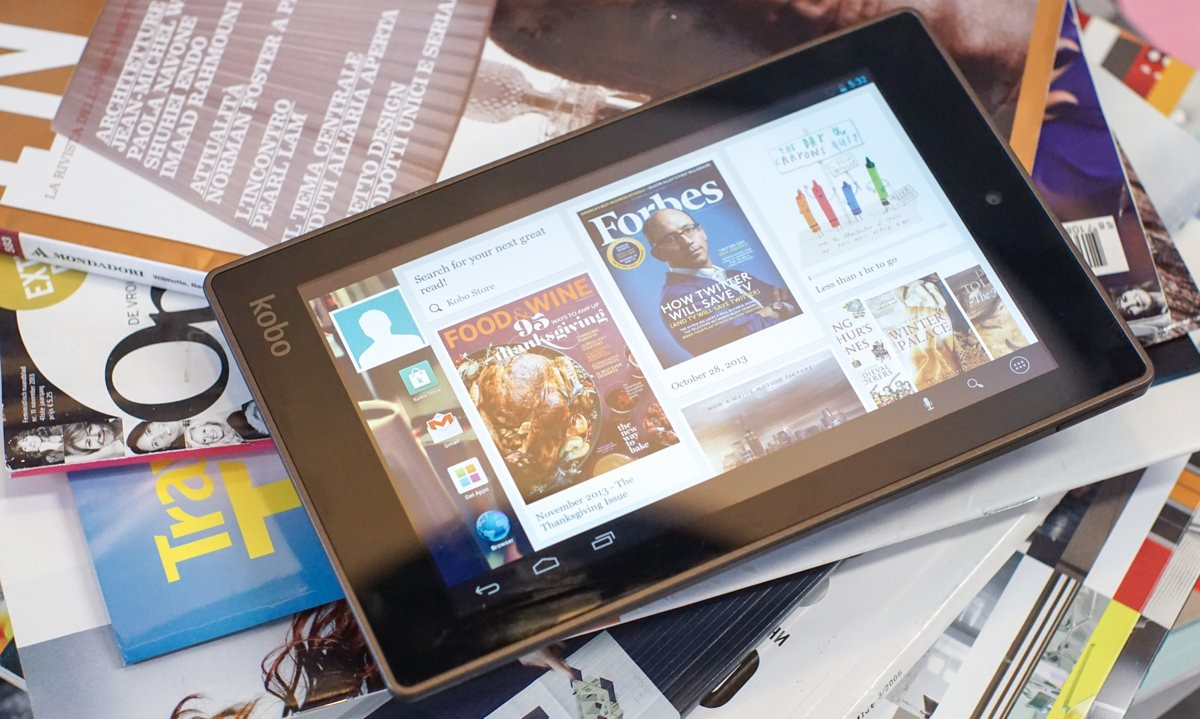 Review: Kobo Arc 7HD   Tablets Magazine