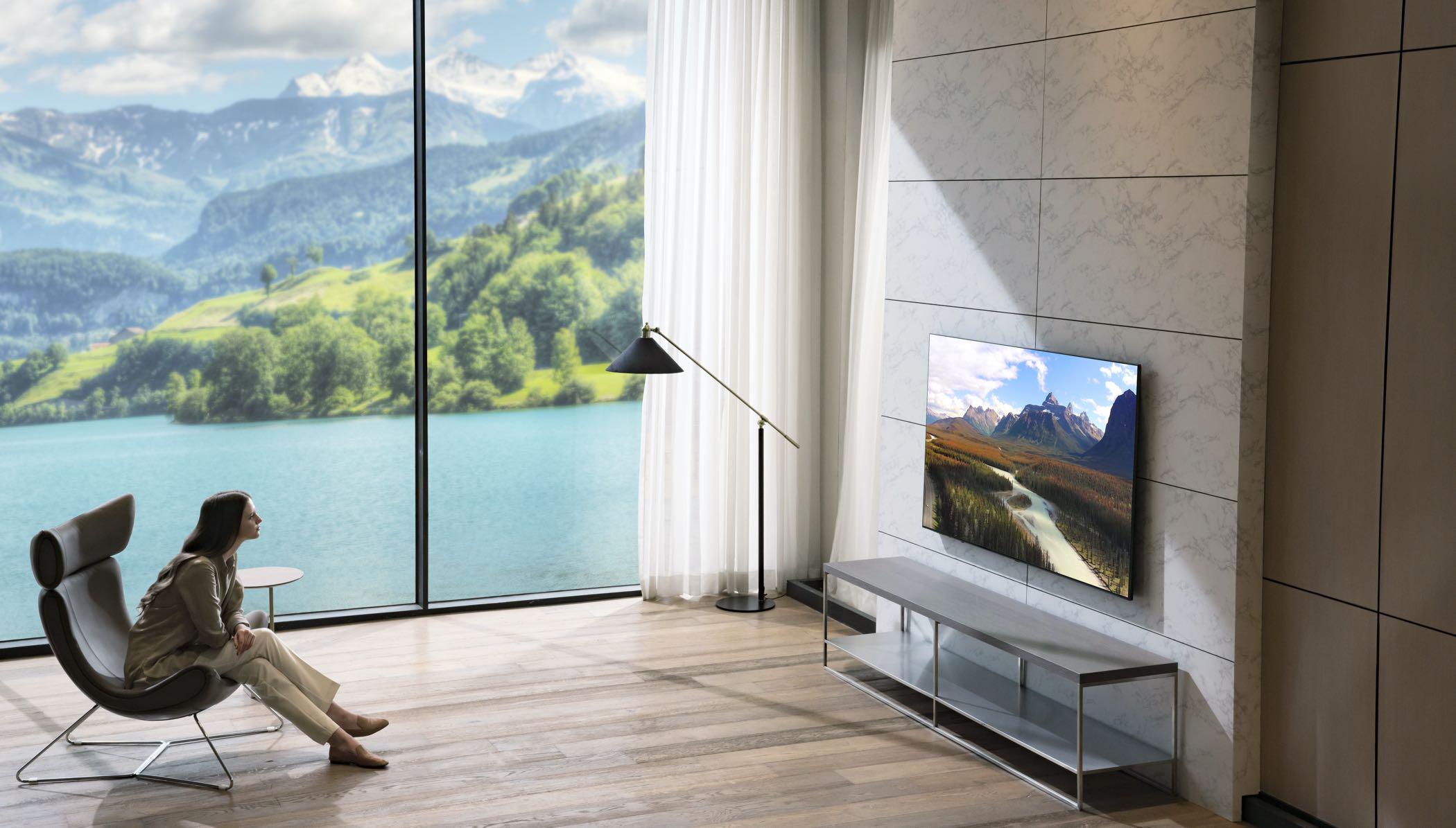 LG tovert de huiskamer om in een thuisbioscoop (ADV)