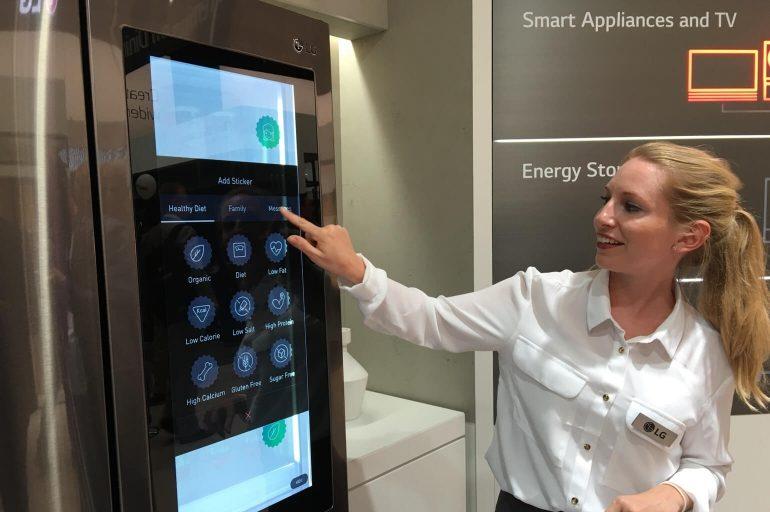 LG slimme koelkast Smart Instaview 1