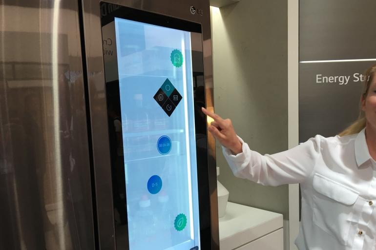 LG slimme koelkast Smart Instaview 2