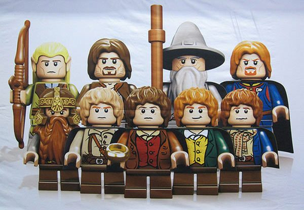 Citaten Uit Lord Of The Rings : Lord of the rings lego figuren komen eraan gadgets magazine