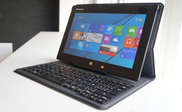 Lenovo miix 10 review review: lenovo miix 10 met keyboard cover