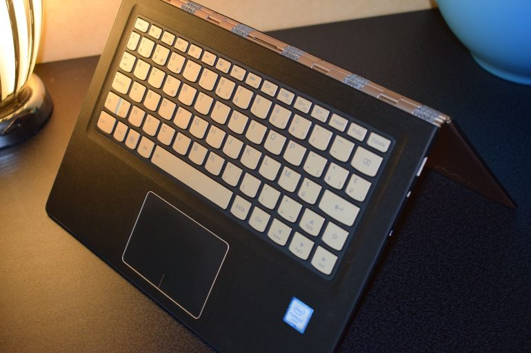 Lenovo Yoga 900S toetsenbord tent