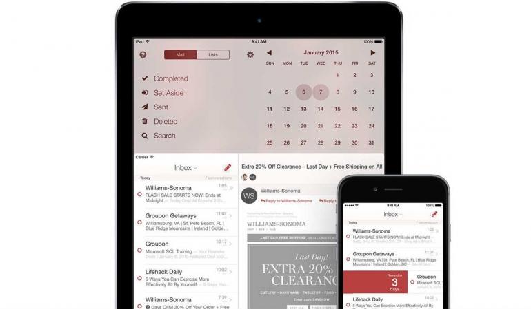Mail Pilot 2 app