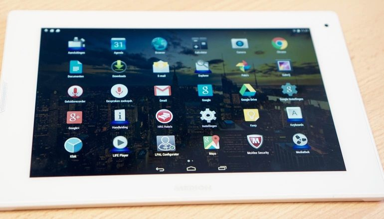 Medion Lifetab P8911 review-software