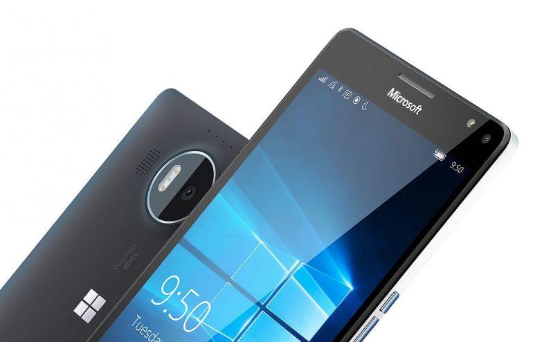Microsoft Lumia 950XL persfoto