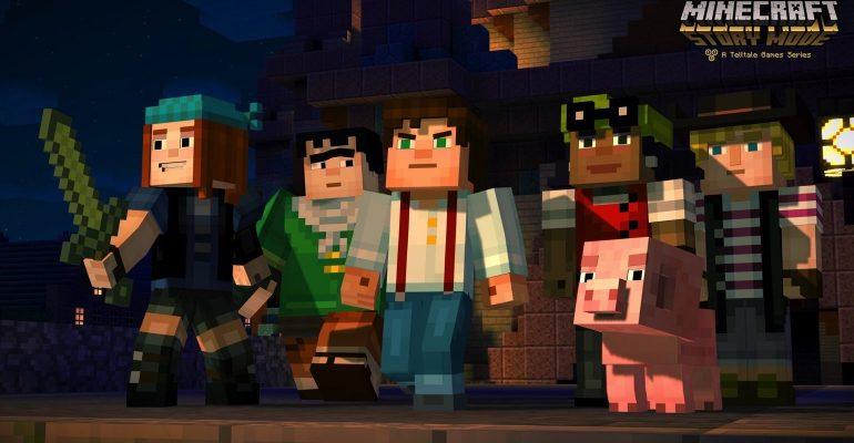 Minecraft story mode app