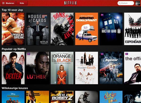 Netflix-app-iPad
