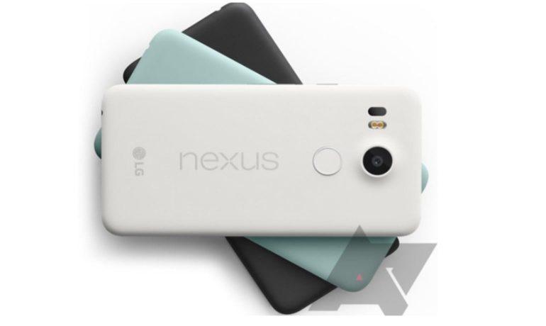 Nexus 5X Achterkant