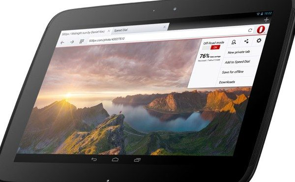 Opera browser Android tablets 2 Three apps that should not be missing on your Android tablet # 26