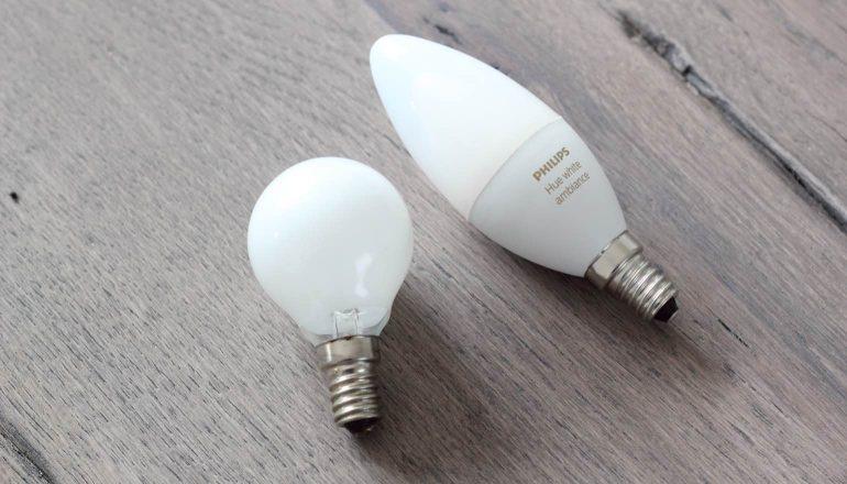 Philips Hue E14.Review Philips Hue White Ambiance E14 Kaarslamp Smarthome Magazine