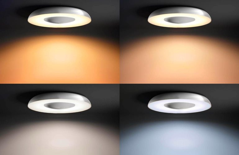 Plafoniera A Led Beign Philips Hue : Review philips hue still plafondlamp met afstandsbediening