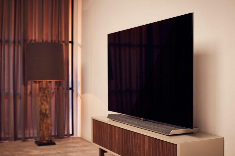Tv In Muur : Review philips oled oled tv homecinema magazine